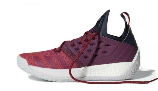 Adidas Harden Vol. 2 Maroon