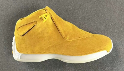 Air Jordan 18 Yellow Suede