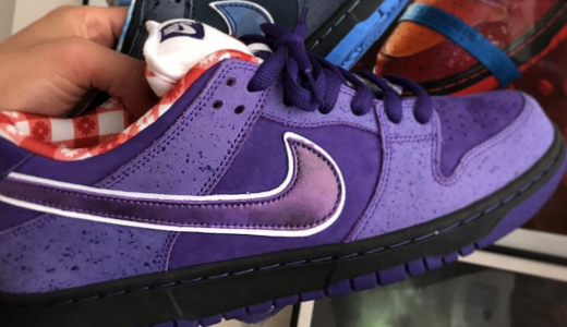 Concepts x Nike SB Dunk Low Purple Lobster