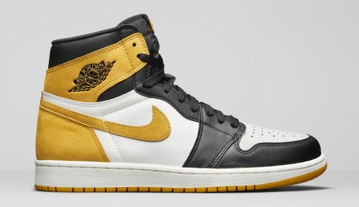 Air Jordan 1 Retro High OG Best Hand In The Game Yellow Ochre