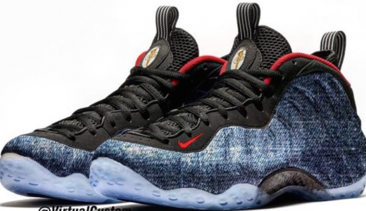 Nike Air Foamposite One Denim