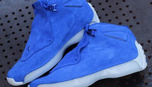 Air Jordan 18 Blue Suede