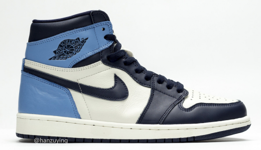 Air Jordan 1 Retro High OG Obsidian University Blue