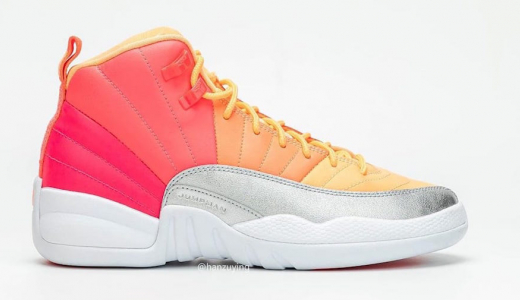 Air Jordan 12 GS Hot Punch