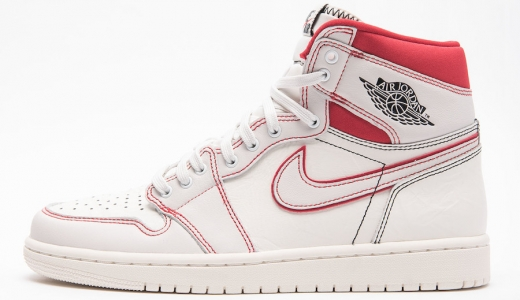 Air Jordan 1 Retro High OG Sail University Red