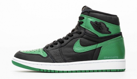 Air Jordan 1 Retro High OG Pine Green Gym Red