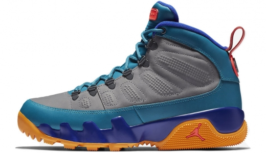 Air Jordan 9 Boot NRG Multicolor