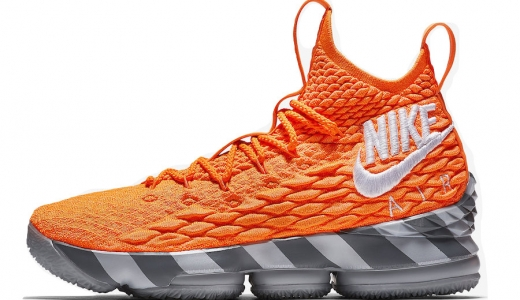 Nike LeBron 15 Orange Box