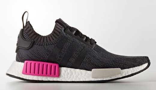 adidas WMNS NMD R1 Core Black Shock Pink