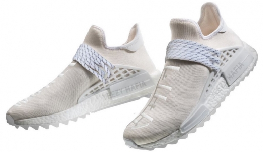 Pharrell x adidas NMD Hu Trail Blank Canvas Cream