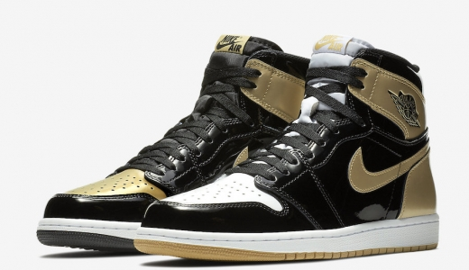 Air Jordan 1 Retro High OG Gold Top 3