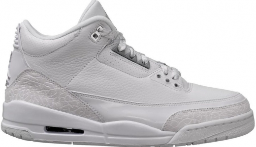 Air Jordan 3 Triple White