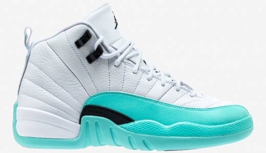Air Jordan 12 GS Light Aqua
