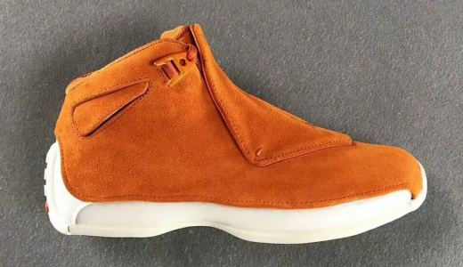 Air Jordan 18 Orange Suede