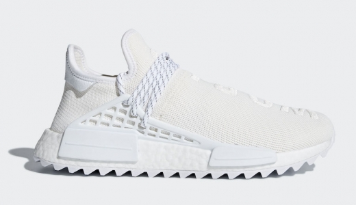 Pharrell x adidas NMD Hu Trail Blank Canvas