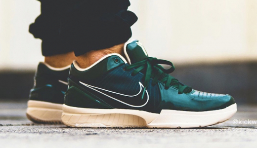 UNDEFEATED x Nike Kobe 4 Protro Dark Green