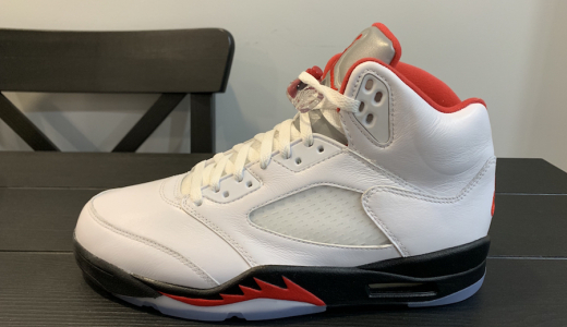 Air Jordan 5 OG Fire Red 2020