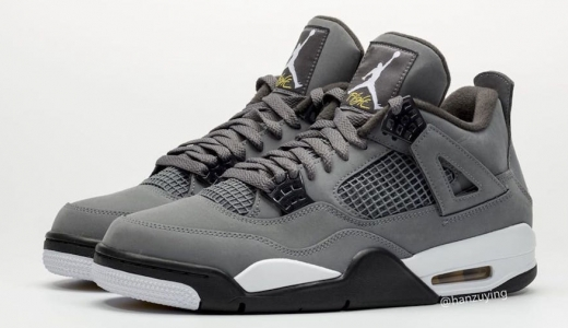Air Jordan 4 Cool Grey 2019