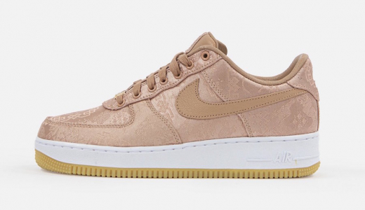 CLOT x Nike Air Force 1 Low Rose Gold