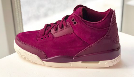 Air Jordan 3 WMNS Bordeaux