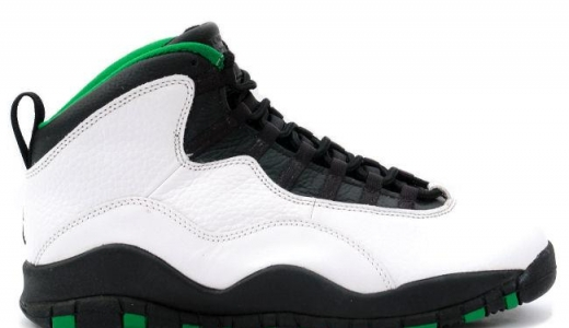 9b8deb6004ada9 White Black-Red. 19. Oct. Air Jordan 10 Seattle Supersonics