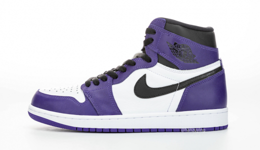 Air Jordan 1 Retro High OG White Court Purple
