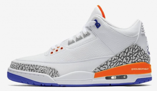 425be3f91eab Air Jordan 3 Knicks Rivals
