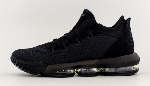 info for aeacc ae585 Nike LeBron 16 Low Triple Black