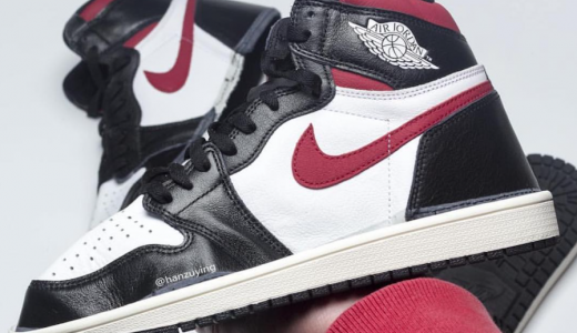 Air Jordan 1 Retro High OG Black White Gym Red Sail