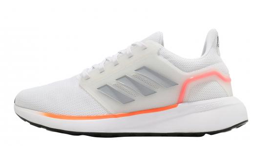 adidas EQ19 Run Cloud White Solar Red