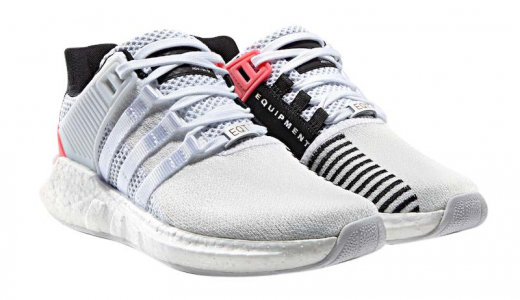 adidas EQT Support 93/17 White Turbo Red