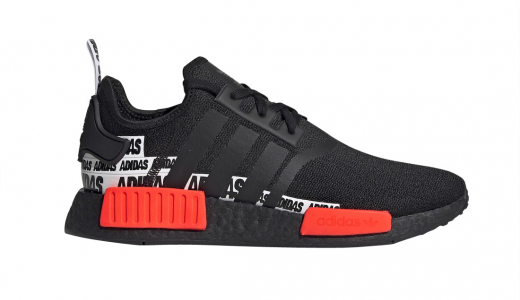 adidas NMD R1 Banner Core Black Solar Red