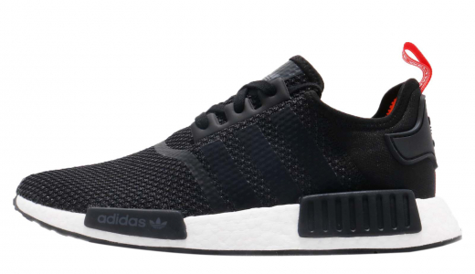 adidas NMD R1 Core Black Solar Orange