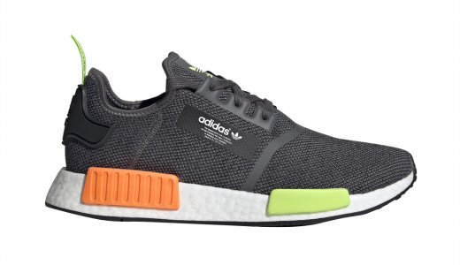 adidas NMD R1 Neon Green Orange