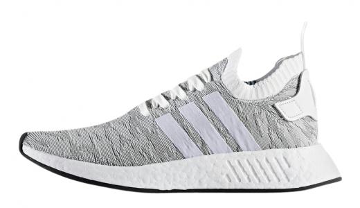 adidas NMD R2 Primeknit Grey White