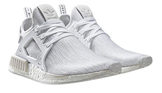 adidas NMD XR1 - Triple White