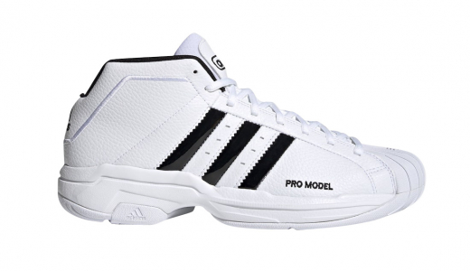 adidas Pro Model 2G Cloud White Core Black