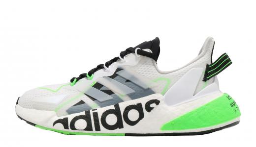 adidas X9000L4 Footwear White Core Black Solar Green