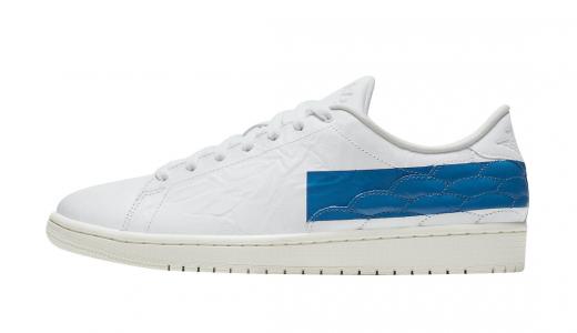 Air Jordan 1 Centre Court White Military Blue