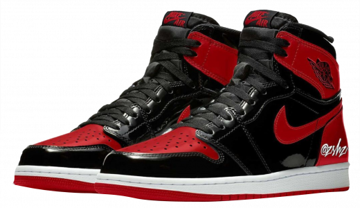 Air Jordan 1 High OG Bred Patent