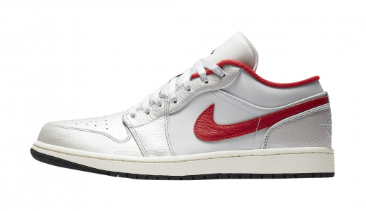 Air Jordan 1 Low Sail Varsity Red