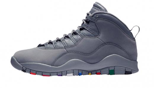 Air Jordan 10 Cool Grey
