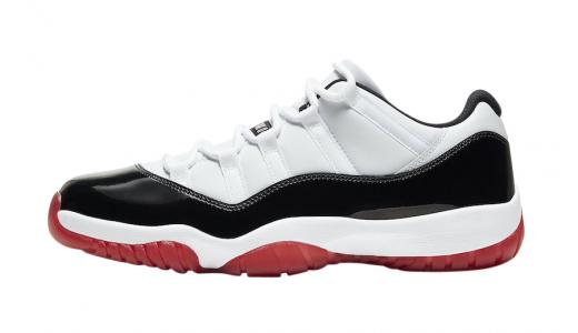 Air Jordan 11 Low Gym Red
