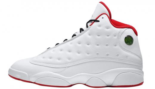 BUY Air Jordan 13 White True Red