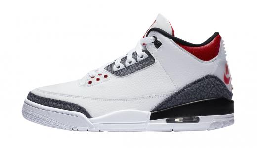 Air Jordan 3 SE Denim Fire Red