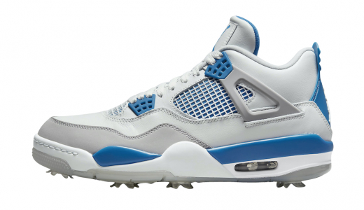 Air Jordan 4 Golf Military Blue