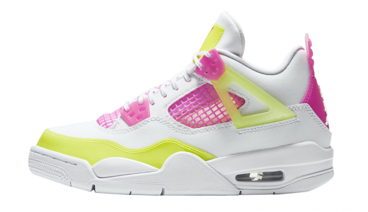 Air Jordan 4 GS Lemon Venom