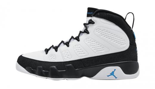 Air Jordan 9 Black University Blue