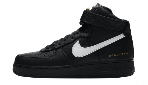 Alyx x Nike Air Force 1 High Black White