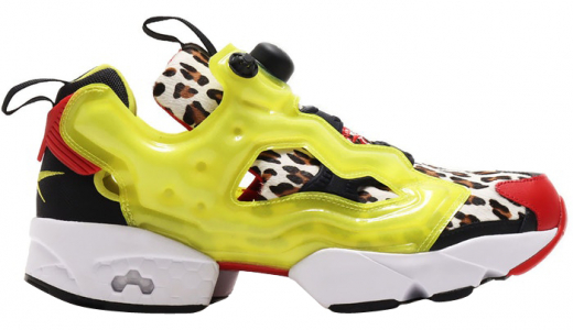 atmos x Reebok Instapump Fury Citron Animal
